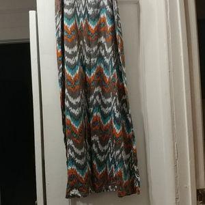 Maxi summer skirt